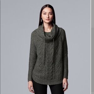 Simply Vera cable snood sweater